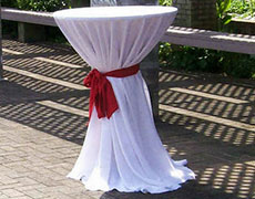 Linen Rental For Boston And The Whole Of The North Shore - Cocktail table linens
