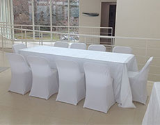 fitted spandex chair cover